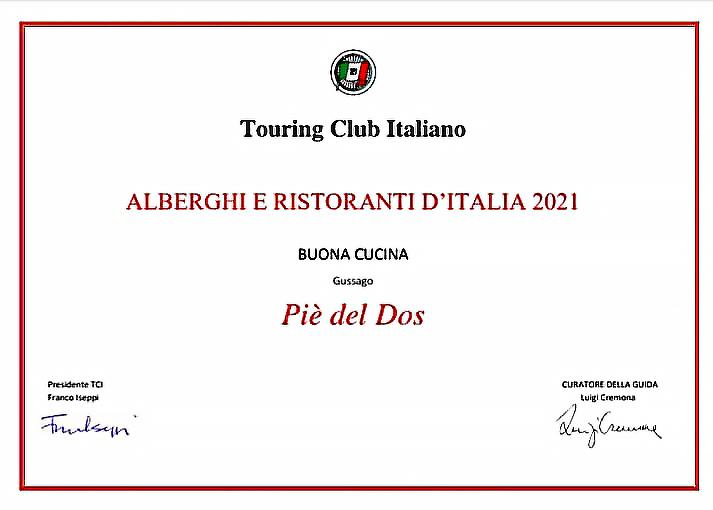 Guida Touring Club Italia - Piè del Dos